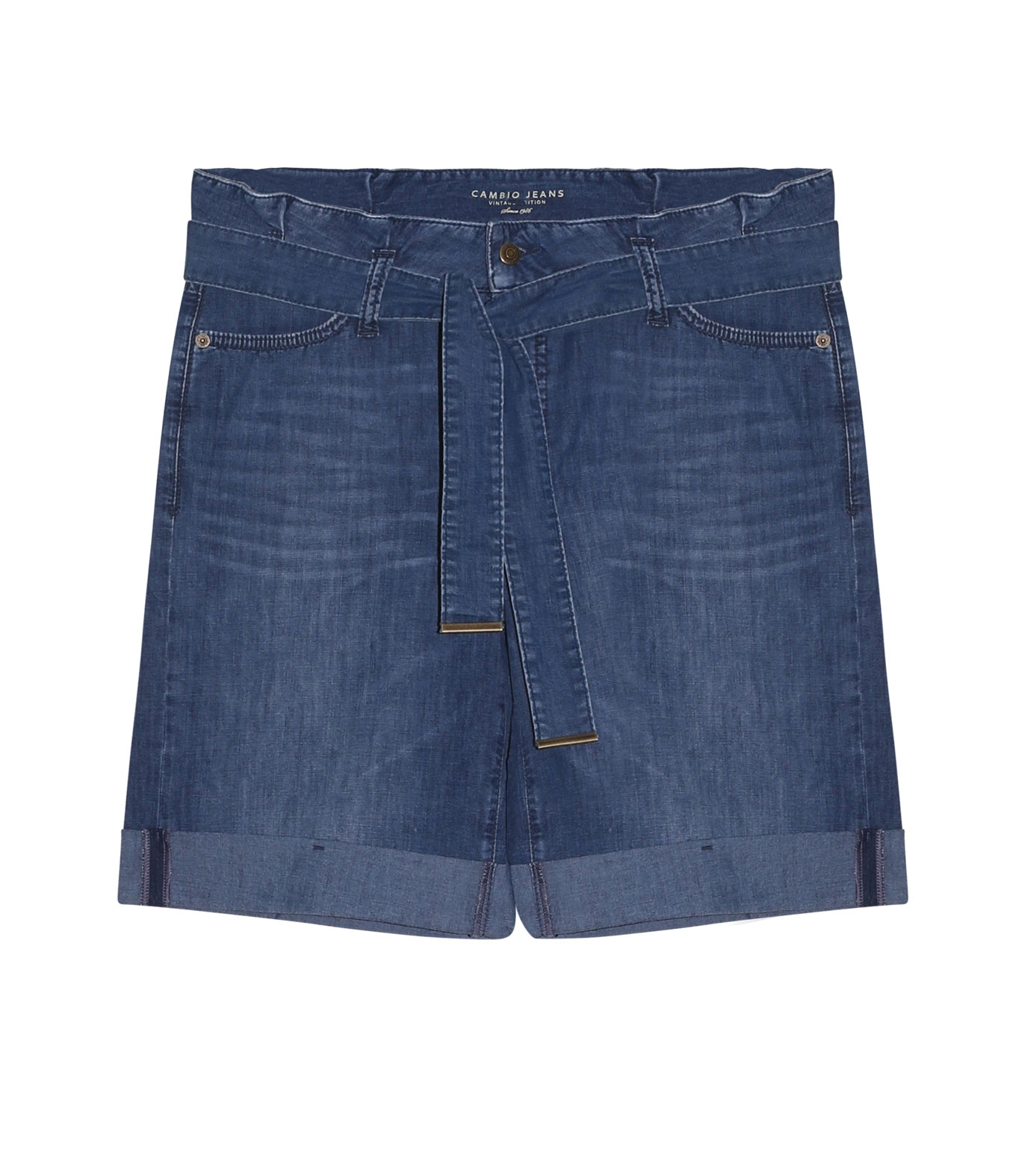 BERMUDA PHILINE BLUE DENIM