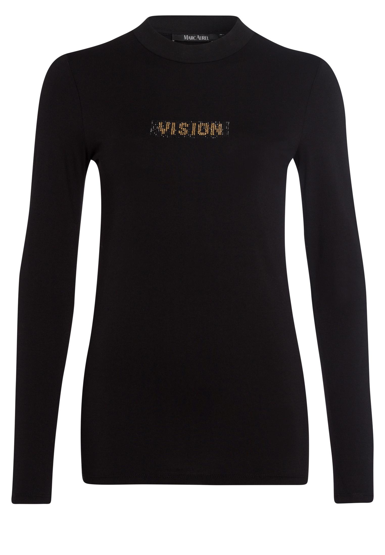 Shirt mit Strassapplikation