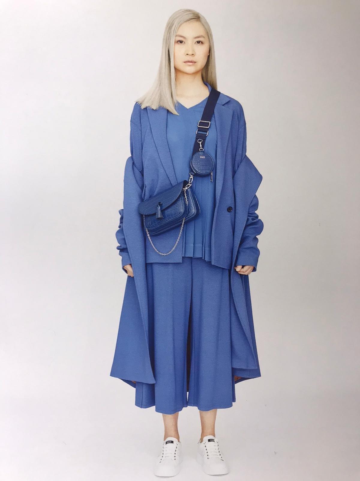Grace Pochette Bag - Blue