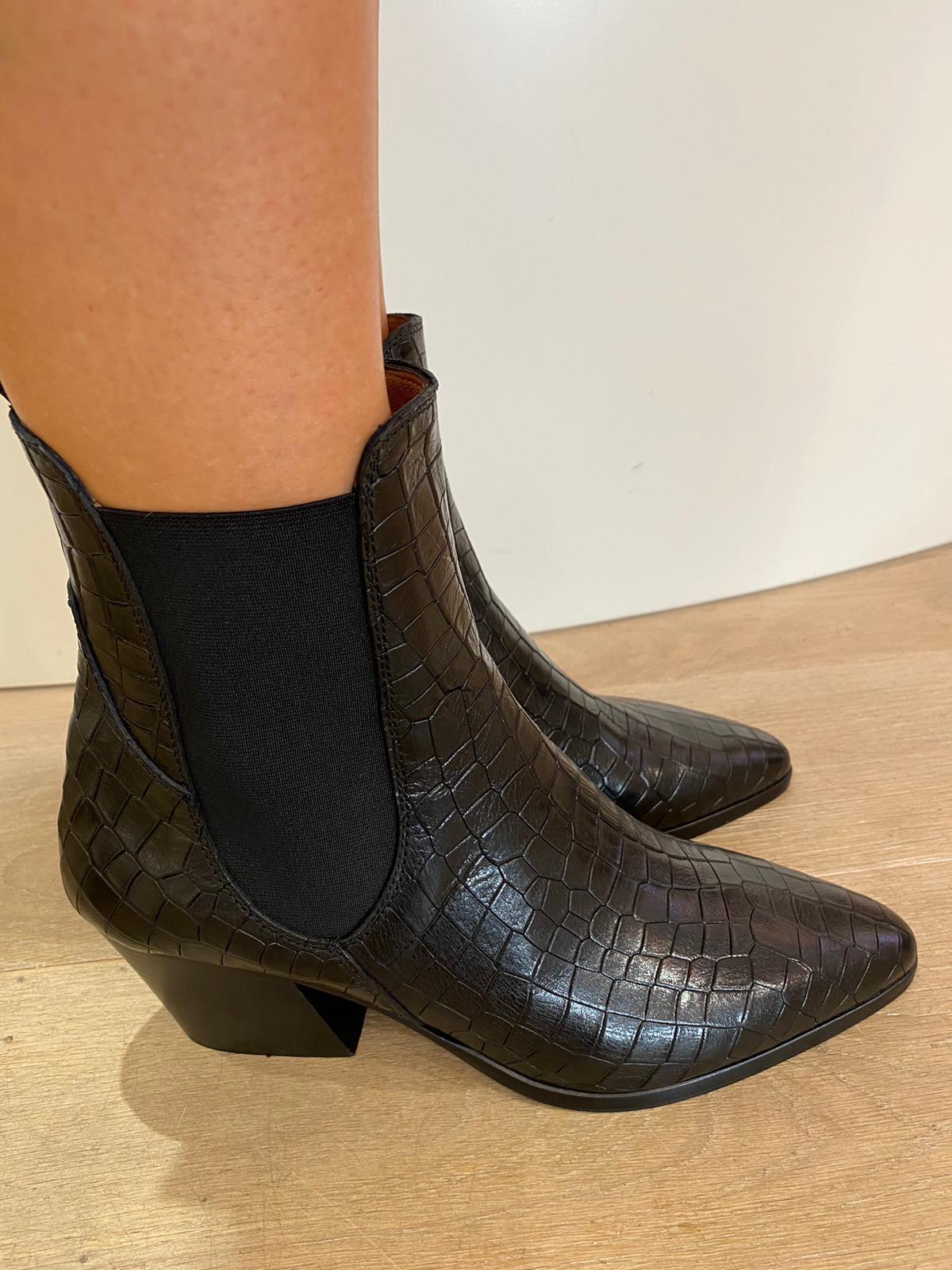 Ankle Boots ALFA COCCO NERO