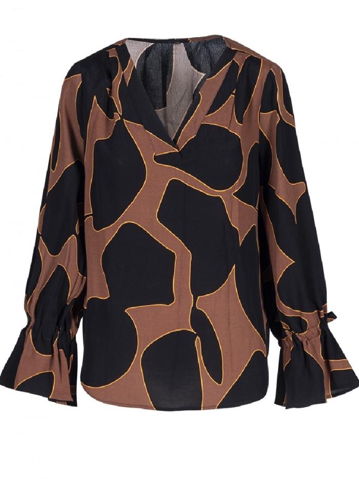 Bluse Tilde Giraffe