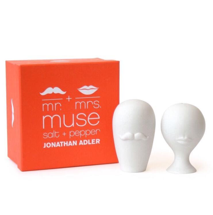 MUSE SALZ- UND PFEFFERSTREUER MR & MRS