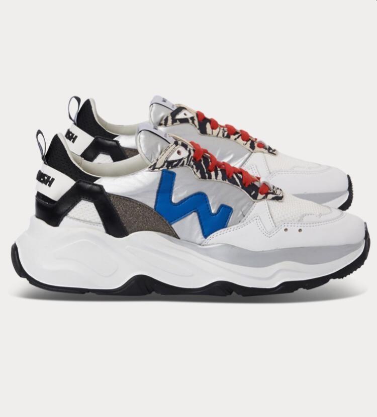 Sneaker FUTURA SILVER