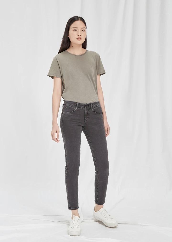 MID SUN - Mid Waist Slim Fit Jeans