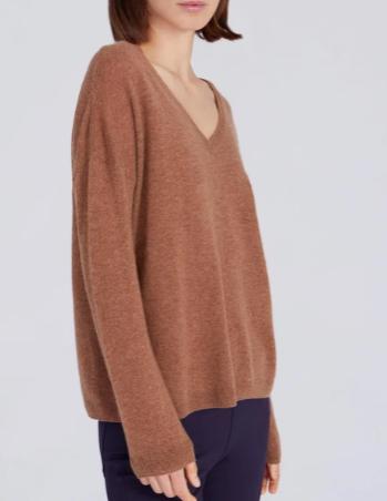 Pullover Theodora V-Ausschnitt
