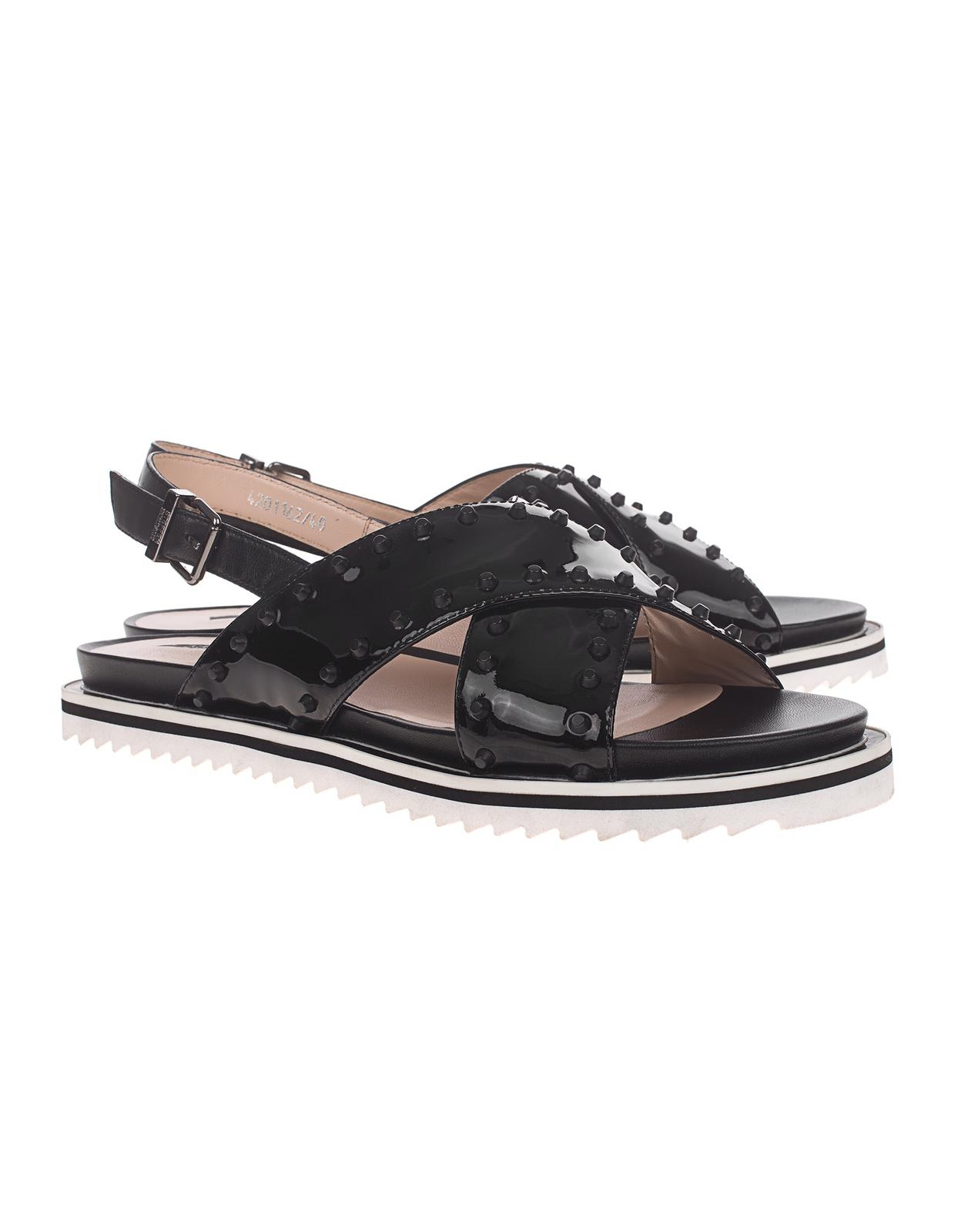 Sandalen mit Ledersohle