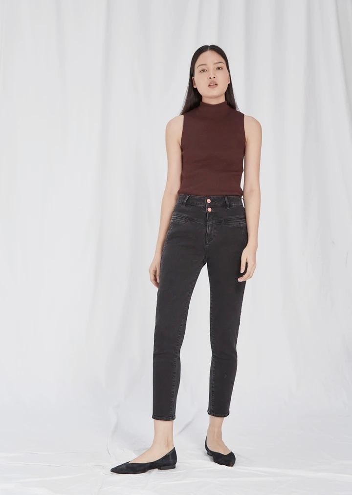 GLORY - High Waist Mom Fit Jeans
